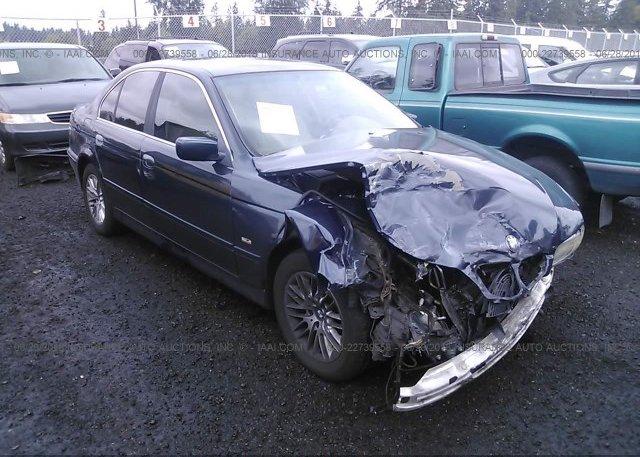 Inventory #141573105 2003 BMW 530