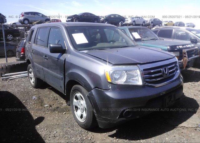 Inventory #632695109 2014 Honda Pilot