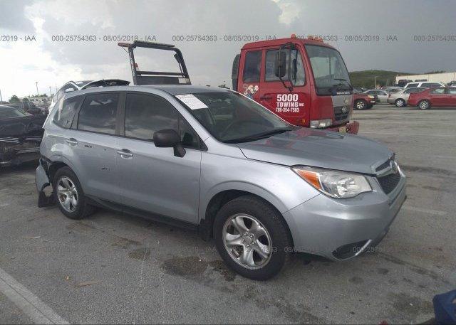 Inventory #834252496 2015 Subaru FORESTER