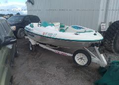 1996 BOMBARDIER SEADOO SPORTSTER JETBOAT - ZZNP0782J596 Left View