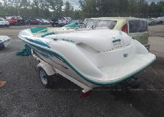 1996 BOMBARDIER SEADOO SPORTSTER JETBOAT - ZZNP0782J596 [Angle] View