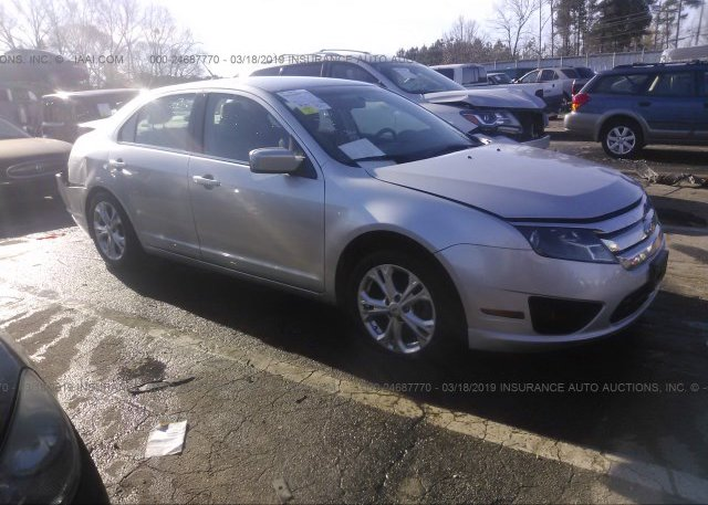Inventory #739975782 2012 FORD FUSION