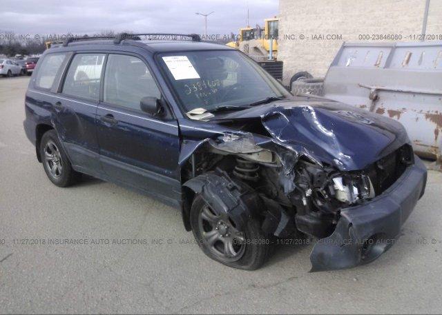 Inventory #892197889 2005 Subaru FORESTER