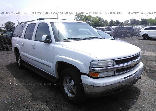 Inventory #240115870 2002 Chevrolet SUBURBAN