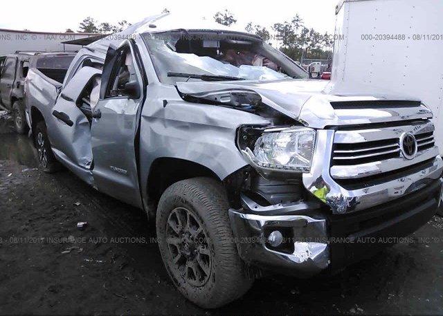 Toyota Salem Nh >> 5TFDW5F15GX575497, Salvage Title silver Toyota Tundra at