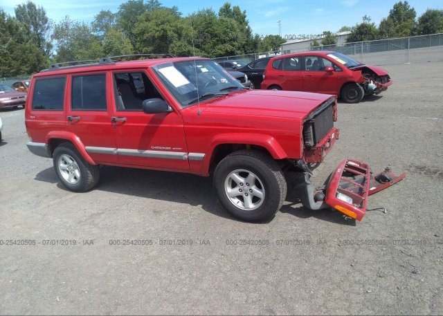 Inventory #554573931 2000 JEEP CHEROKEE