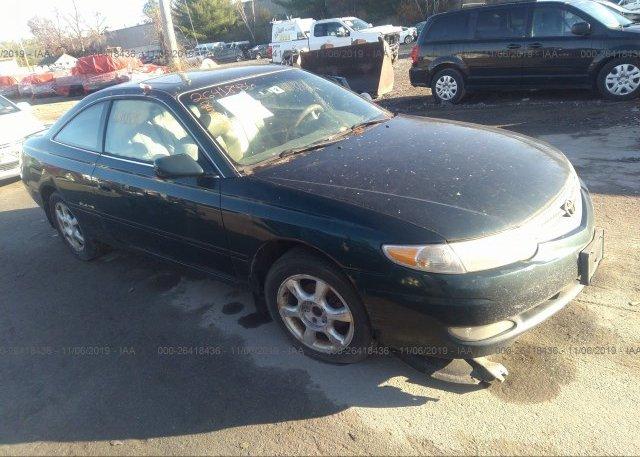 Inventory #741426218 2002 Toyota CAMRY SOLARA