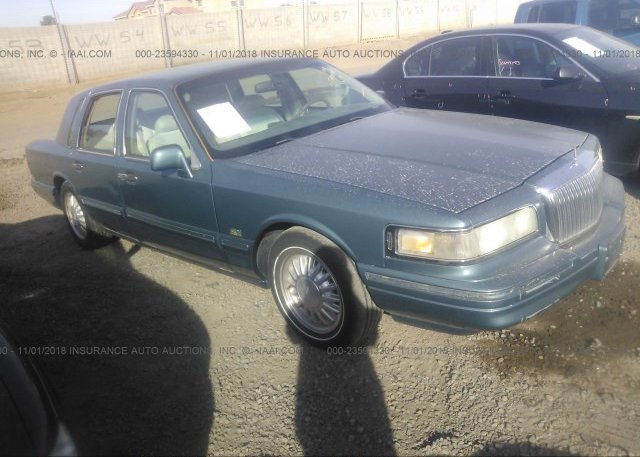 1lnlm82w6ty713665 Salvage Green Lincoln Town Car At Phoenix Az On