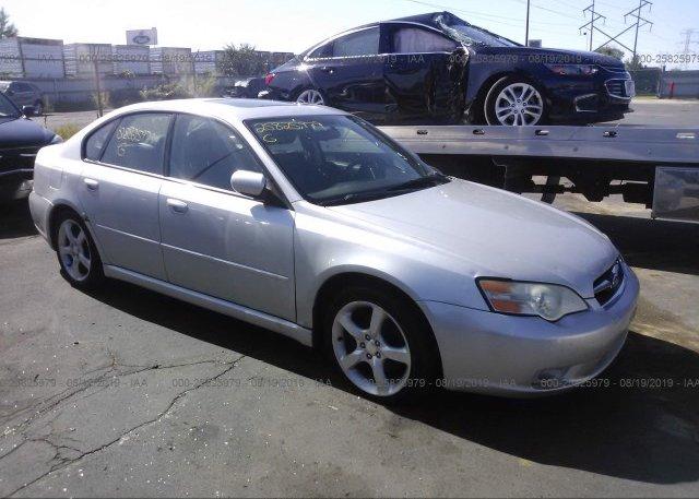 Inventory #688406047 2006 Subaru LEGACY