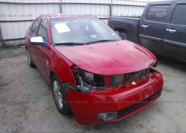 Inventory #620985489 2008 FORD FOCUS
