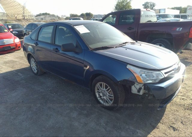 Inventory #666165566 2008 FORD FOCUS