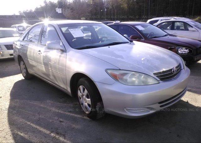 Inventory #268300426 2003 Toyota CAMRY