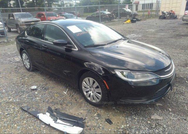 Inventory #812390431 2015 Chrysler 200