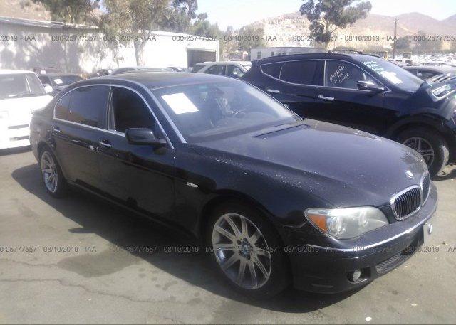 Inventory #621841442 2006 BMW 750