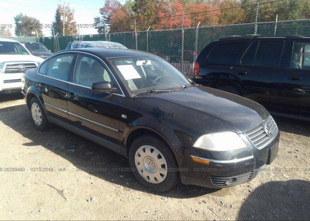 Inventory #257885694 2002 Volkswagen PASSAT
