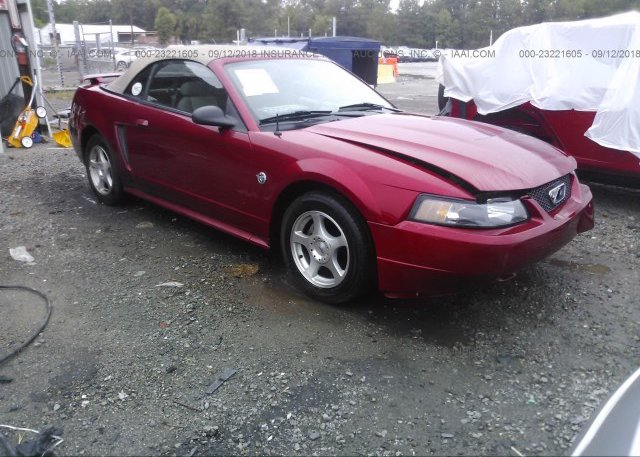 Inventory #237200537 2004 FORD MUSTANG