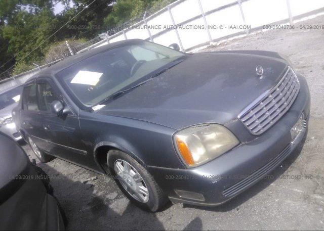 Inventory #250620496 2005 Cadillac DEVILLE