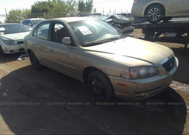 Inventory #446226584 2006 Hyundai ELANTRA