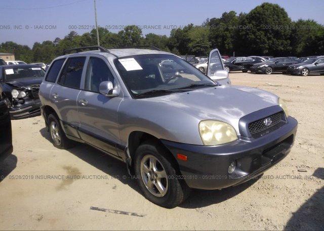 Inventory #356822052 2002 Hyundai SANTA FE