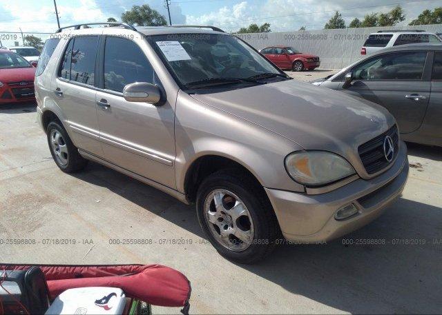 Inventory #863365839 2002 Mercedes-benz ML