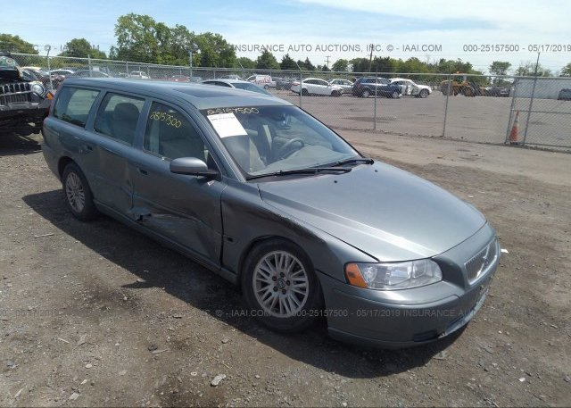 YV1SW612252477089, Clear blue Volvo V70 at CULPEPER, VA on