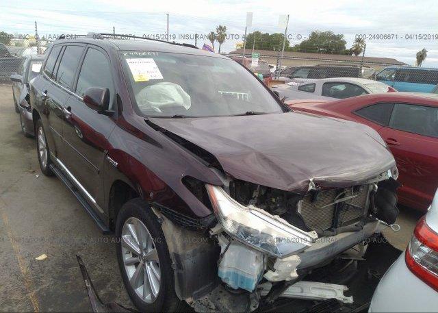 Inventory #631566887 2012 Toyota HIGHLANDER