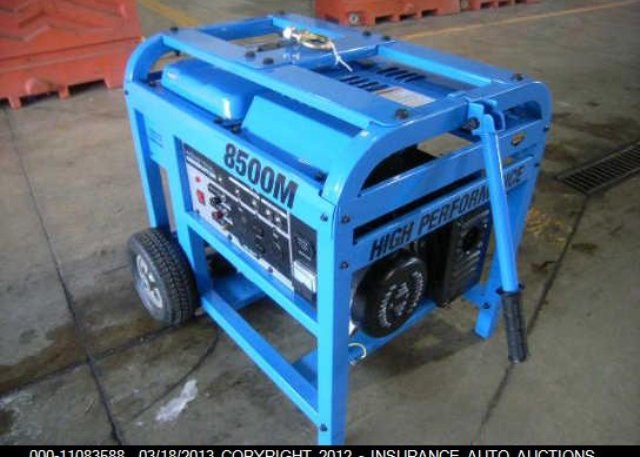 7873 bill of sale blue pacific 8500m generator at granite city il