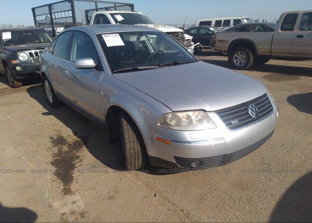 Inventory #939602063 2003 Volkswagen PASSAT