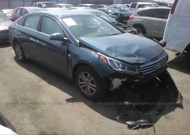 Inventory #957212381 2017 Hyundai SONATA