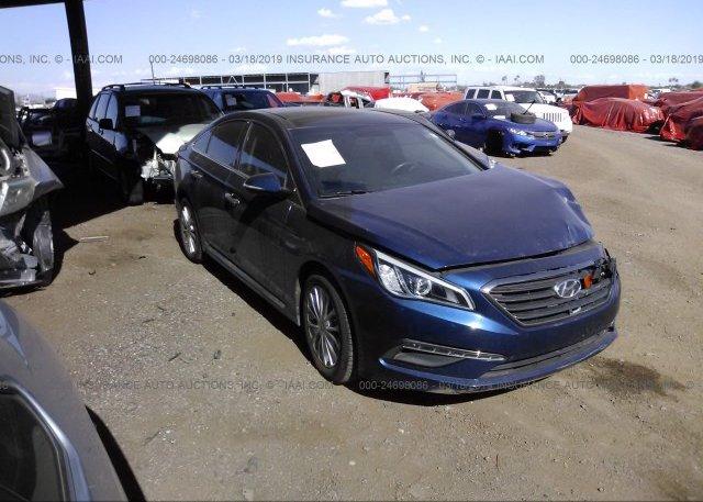Inventory #122855542 2015 Hyundai SONATA