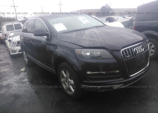 Wa1cyafe9ad008374 Salvage Black Audi Q7 At Carteret Nj On Online