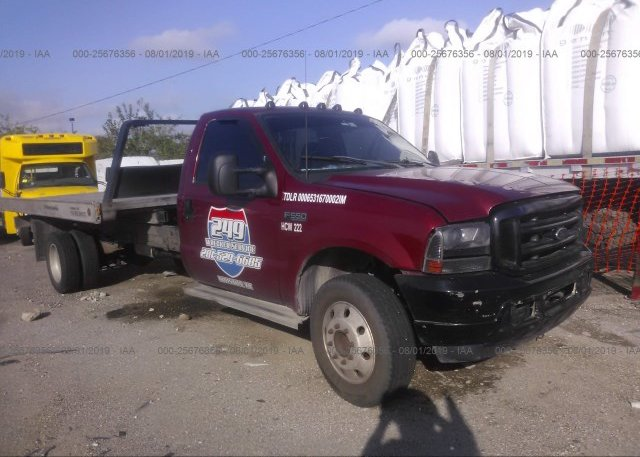 Inventory #829994825 2002 FORD F550