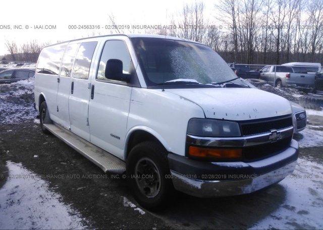 Inventory #278005541 2006 Chevrolet EXPRESS G3500