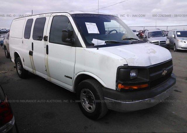 Inventory #411764617 2004 Chevrolet EXPRESS G2500