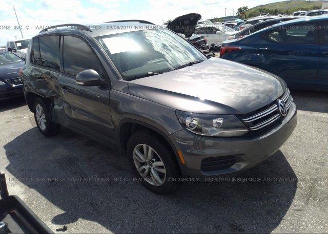 Inventory #785415400 2016 Volkswagen TIGUAN