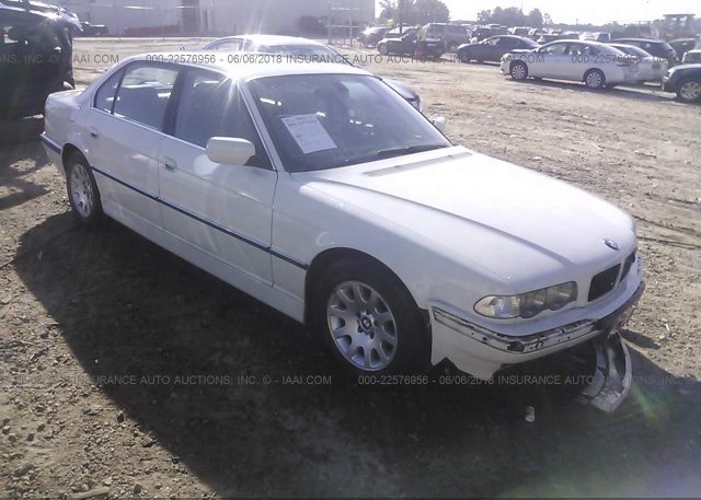 Inventory #342837016 2001 BMW 740