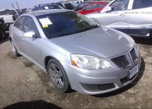 Inventory #801063751 2010 Pontiac G6