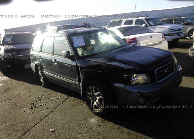 Inventory #951188810 2005 Subaru FORESTER