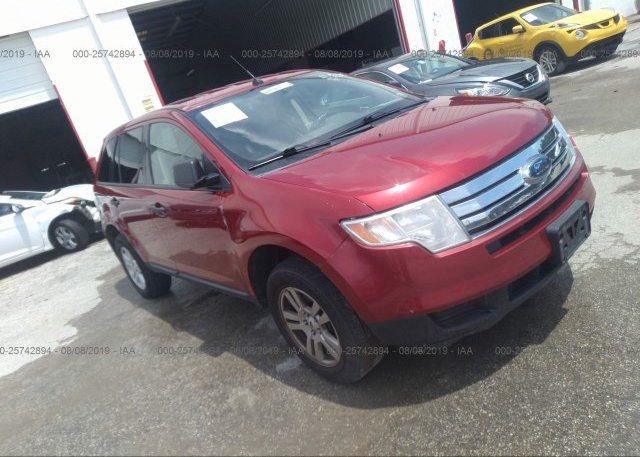 Inventory #544357792 2008 FORD EDGE