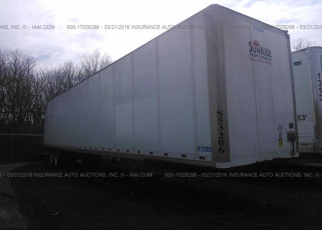Inventory #547610258 1986 STOUGHTON TRAILERS INC DRY VAN