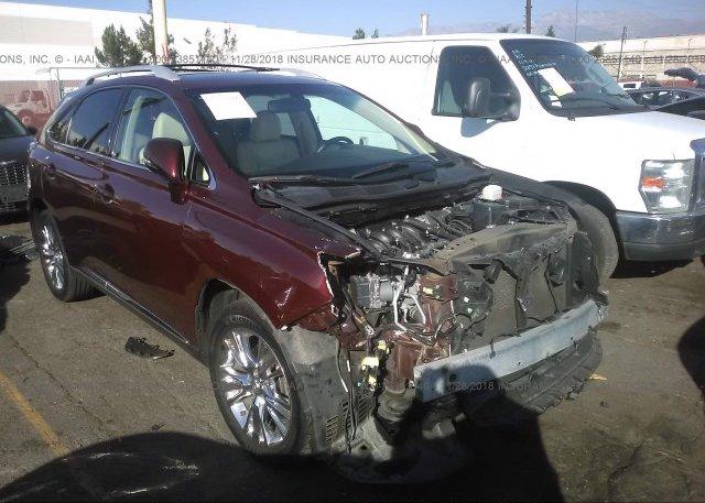 Inventory #991381737 2013 Lexus RX
