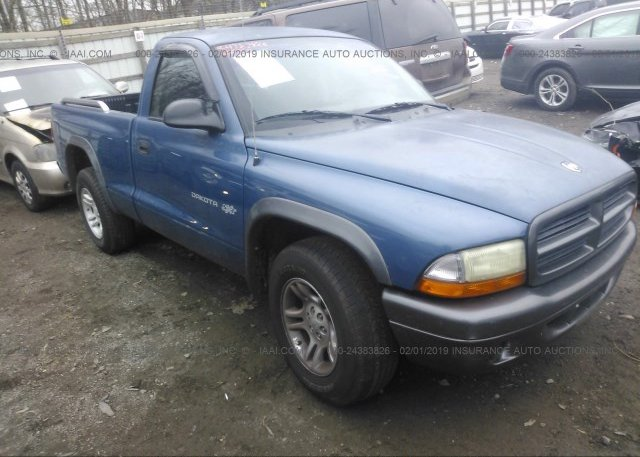 Inventory #802851553 2002 Dodge DAKOTA