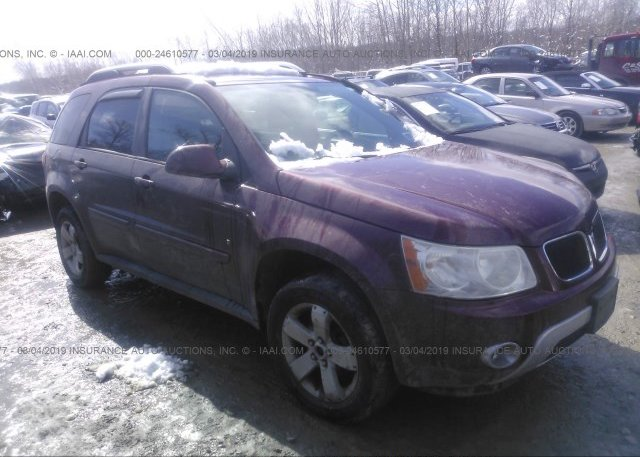 Inventory #375001310 2007 Pontiac TORRENT