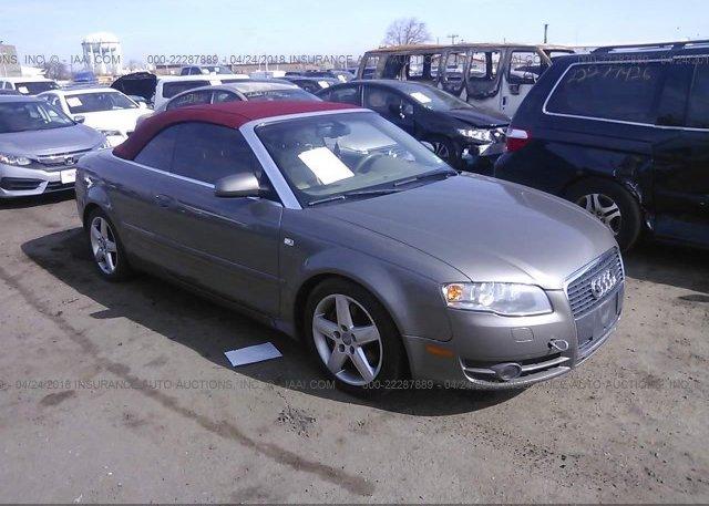 Inventory #112445614 2007 AUDI A4