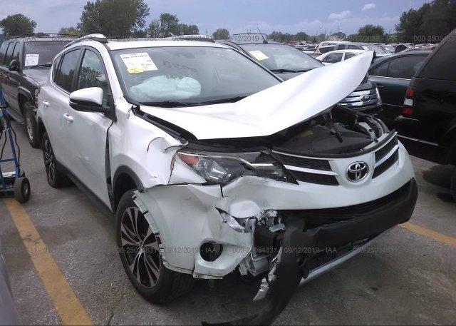Inventory #878503435 2015 Toyota RAV4