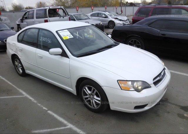 Inventory #792789398 2005 Subaru LEGACY
