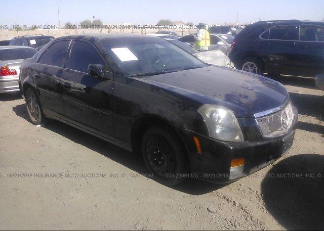 Inventory #626851208 2005 Cadillac CTS