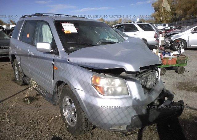 Inventory #256357825 2007 HONDA PILOT