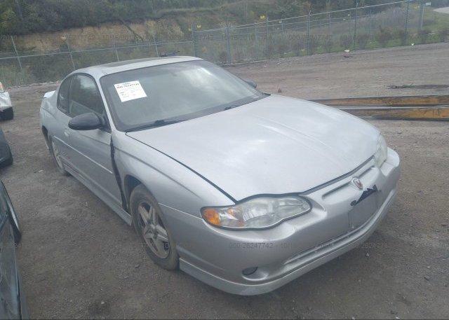 Inventory #275382257 2003 Chevrolet MONTE CARLO
