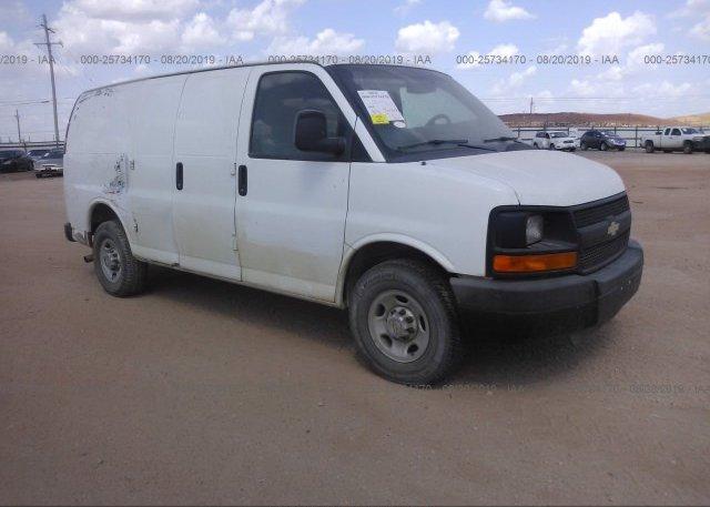 Inventory #788316296 2012 Chevrolet EXPRESS G2500